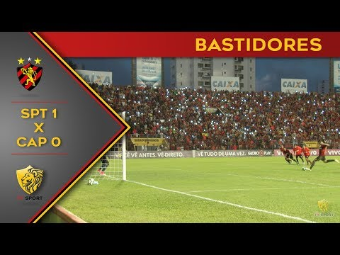 Bastidores de Sport 1x0 Atlético-PR