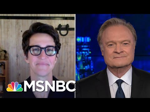 Lawrence O'Donnell Thanks Rachel Maddow For Her Powerful Covid-19 Message | The Last Word | MSNBC