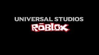Universal Studios ROBLOX Theme Park