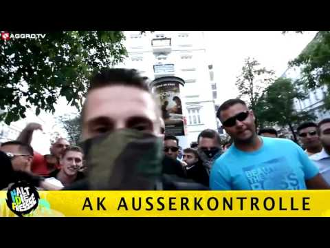 AK Ausserkontrolle  WIE EIN GANGSTER Musik Video HDF Aggro TV NR 03