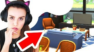 🏠 Build-a-House (Study Nook & Special Lounge) The Sims 4
