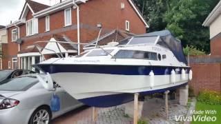 Shetland Kestrel cabin cruiser boat