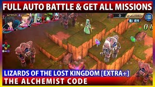Full Auto Battle! Sabareta's Lizards of the Lost Kingdom [Extra+] (The Alchemist Code)