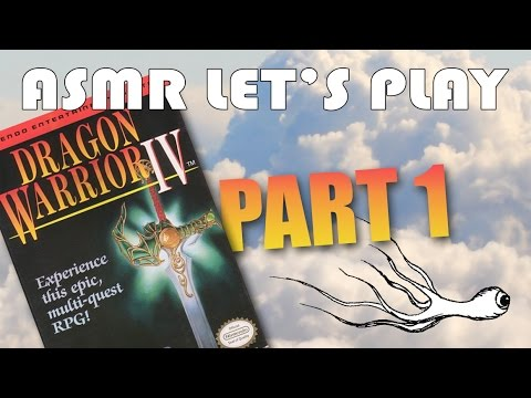 ASMR Let's Play Dragon Warrior IV for the NES (whispered ...