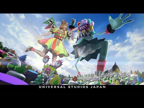 きゃりー USJ CM スチル画像。CM動画を再生できます。