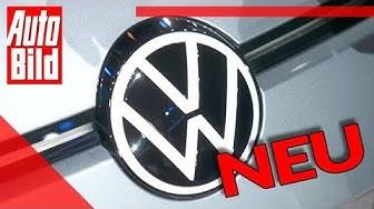 VW Logo (2019): Neu - VW Golf - VW ID.3