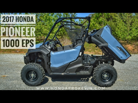 2017 Honda Pioneer 1000 EPS Review of Specs & Features / UTV Walk-Around | SXS10M3P