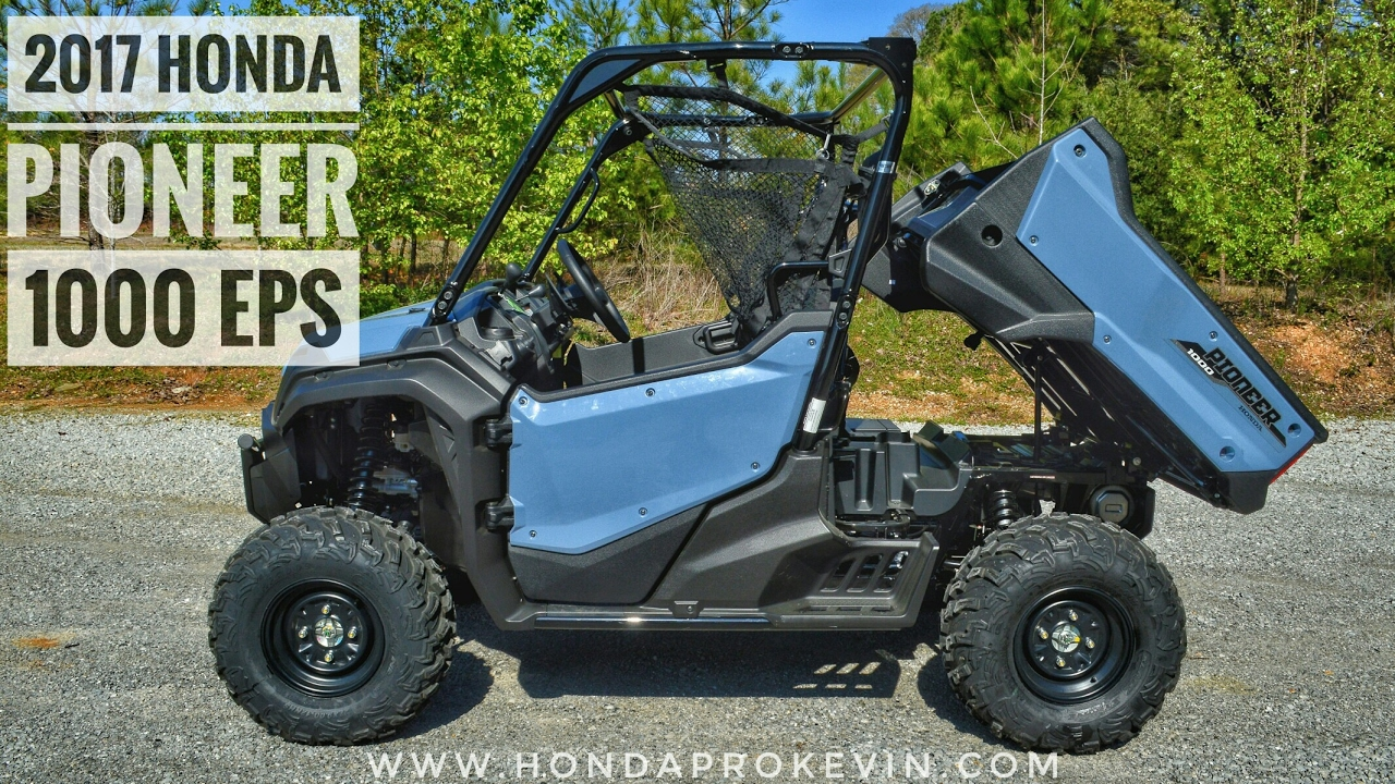 2018 honda utv lineup. beautiful lineup 2017 honda pioneer 1000 eps review of specs u0026 features  utv walkaround   sxs10m3p on 2018 honda utv lineup