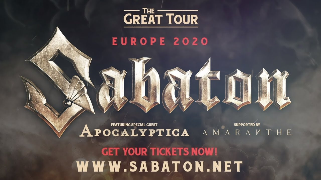 Gojira Tour 2020 The Great Tour is coming to Europe early 2020