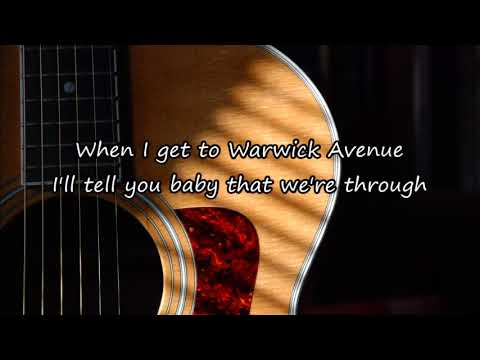 Duffy - Warwick Avenue (Acoustic Guitar Karaoke)