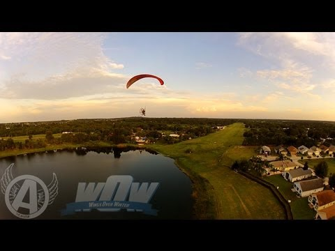 """""""Wings Over Winter"""" Paramotor Fly In Announcement... An Aviator Adventure!"""