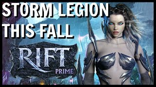 RIFT: Storm Legion Expansion Is Coming To RIFT Prime!