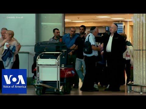 Expelled Israeli ambassador to Turkey arrives at Tel Aviv Airport
