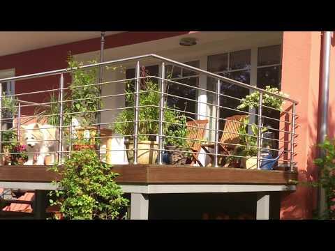 Fabulous Treppengeländer selber bauen - YouTube WP45