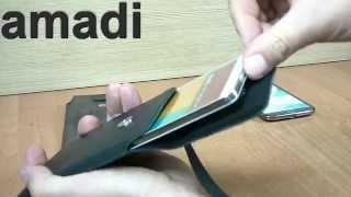 Kabura Flap Vintage Do Samsung Galaxy Note 3, Note 3 Neo, Note 2