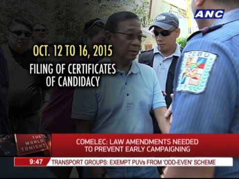 Analyst: Election laws that regulate campaigning are inadequate