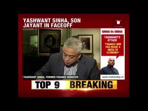 Yashwant Sinha Exclusive Interview To Rajdeep Sardesai On Criticising Modi Govt