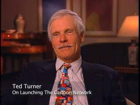 Ted Turner on launching The Cartoon Network - EMMYTVLEGENDS.ORG