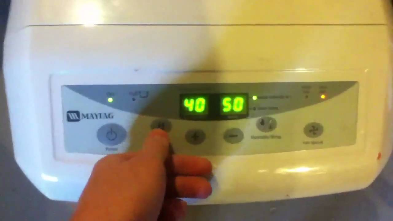 maytag 45 pint dehumidifier youtube rh youtube com