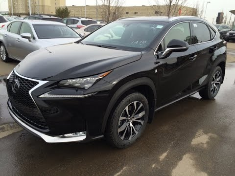 new black on red lexus nx 200t awd f sport series 2 walk