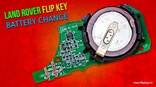 Land Rover Key FOB Battery Change