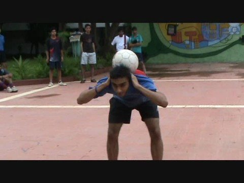 IIT Bombay freestyle football