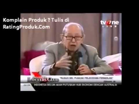 # 5 Prof SAHETAPY - ILK : Ketua MK Akil BAJINGAN - ILC
