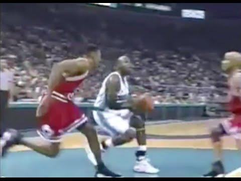 Scottie Pippen shuts down Glen Rice - 1998 ECSF Game 4