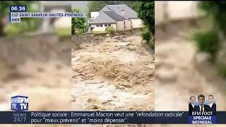À Luz-Saint-Sauveur, les inondations se transforment en torrent