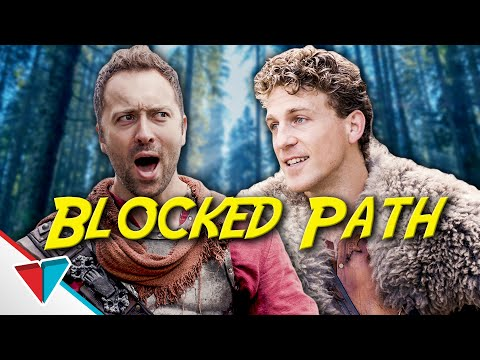 How to get past a fallen log - Blocked Path