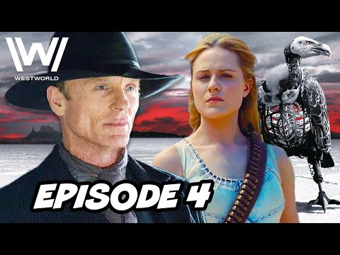 Westworld Season 3 Episode 4 HBO - TOP 10 WTF And Easter Eggs