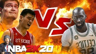 NBA 2K20 TACKO FALL vs YAO MING! TALLEST PLAYERS IN NBA HISTORY