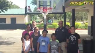 Basketball Hoop Donated to Dover Boys and Girls Club