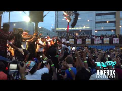 A$AP Ferg Brings Out A$AP Rocky To Perform Work Remix At Trillectro