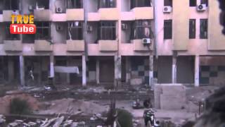 СИРИЯ АЛЕППО РАНЕНИЯ ТЕРРОРИСТОВ ССА ИЗ ПОДСТВОЛЬНОЙ ГРАНАТЫ (Syrian Civil War )