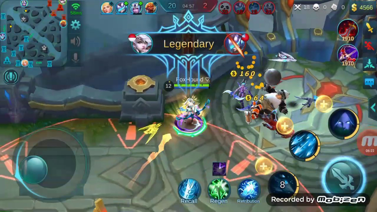 Full tutorial hack mobile legend ( Tested in match up mode