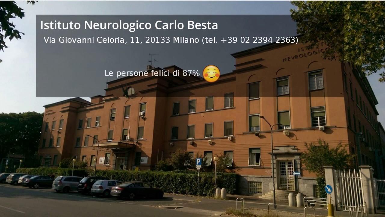 Recensioni istituto neurologico carlo besta youtube