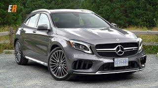 4K NEW 2018 Mercedes AMG GLA45 - Hot Hatch or Hot SUV?