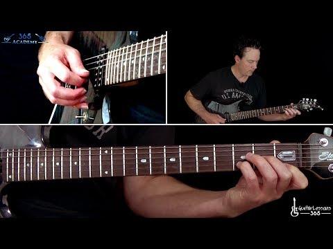 Metallica - The Call of Ktulu Guitar Lesson (Rhythms/Part 1)