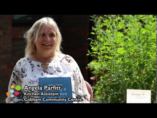 Making A Difference Awards 2020 Angela and Cobham Centre for the Community