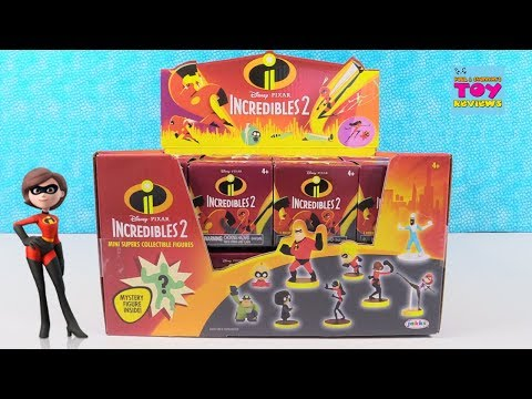 Incredibles 2 Disney Pixar Toys Blind Box Figures Toy Review | PSToyReviews