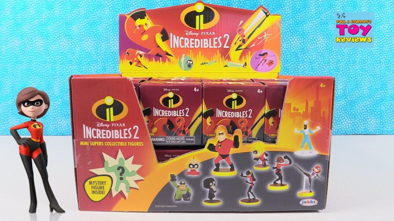 Best Incredibles Toys Reviewed : Incredibles disney pixar toys blind box figures toy