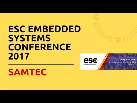 ESC Embedded Systems Conference 2017 - Samtec