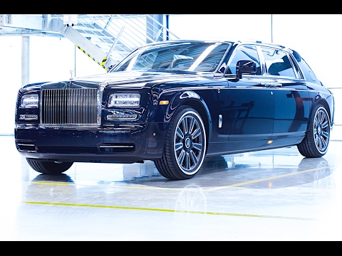 Final Rolls-Royce Phantom II Ever Pre New Rolls-Royce Phantom 2018 RR Interior Bespoke CARJAM TV HD