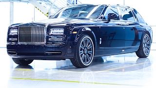 Final Rolls-Royce Phantom II Ever Pre New Rolls-Royce Phantom 2018 RR Interior Bespoke CARJAM TV HD
