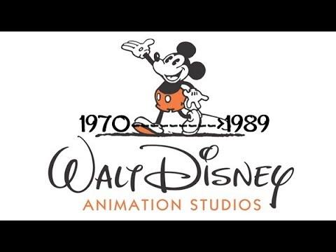 Walt Disney:  Animation Studio Films (1970-1989)