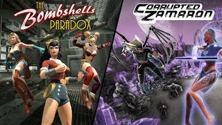 DCUO New DLC - The Bombshells Paradox and Corrupted Zamaron DC Universe Online