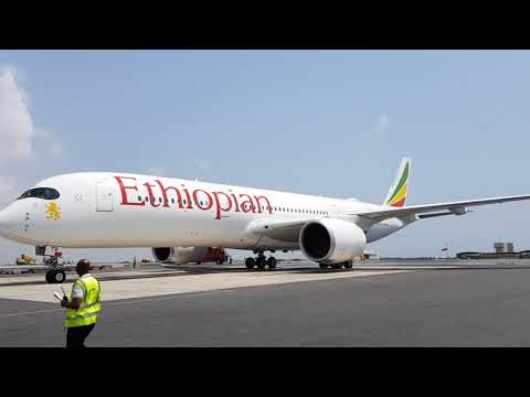 Ethiopian Airlines Lands Airbus A350 in Accra