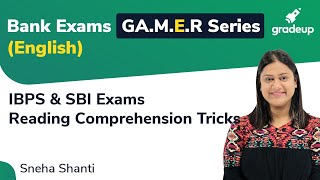 Reading Comprehension Tricks | English Preparation for Bank