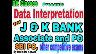 Data Interpretation (DI) for J&K Bank